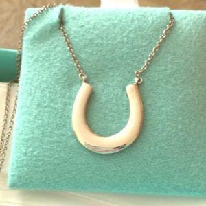 Tiffany's 1837 horseshoe necklace